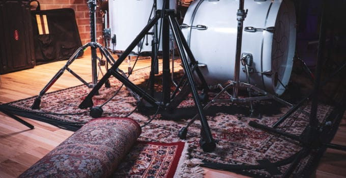 Best Drum Rugs for the studio and Stage