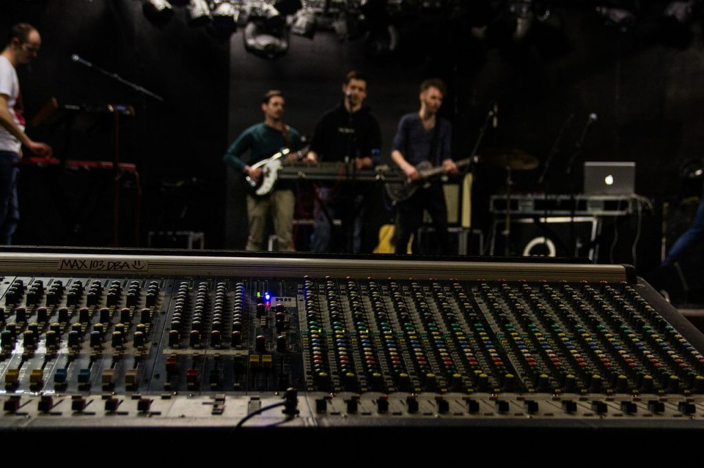 Touring Band Soundcheck