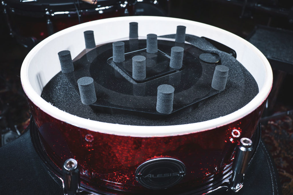 Alesis Snare Drum Internals