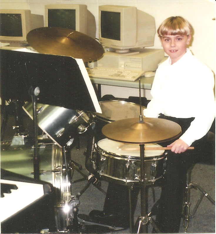 Nick Drumming Young