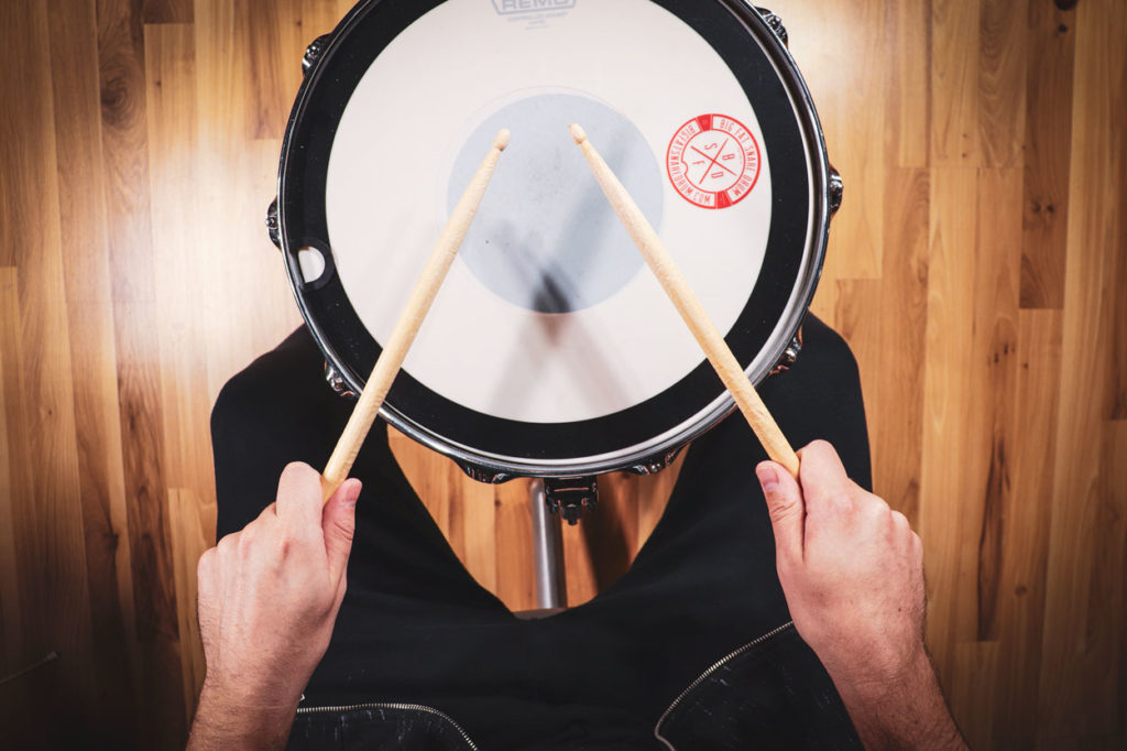 American Drumming Grip