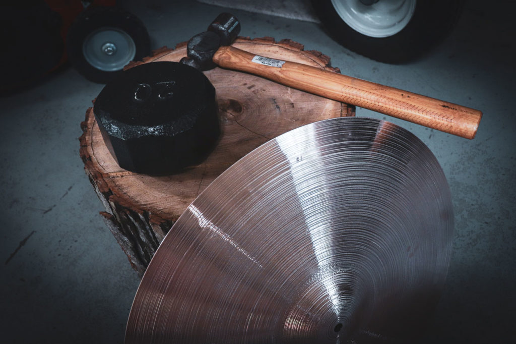 Cymbal Hammering