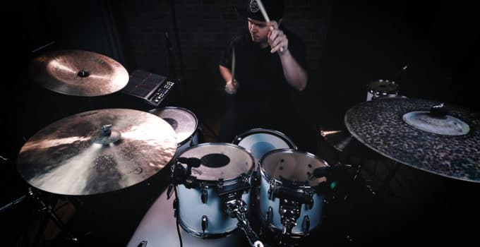 How to shoot drum covers