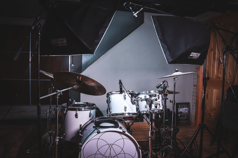 Softboxes for Drumming Cover Videos